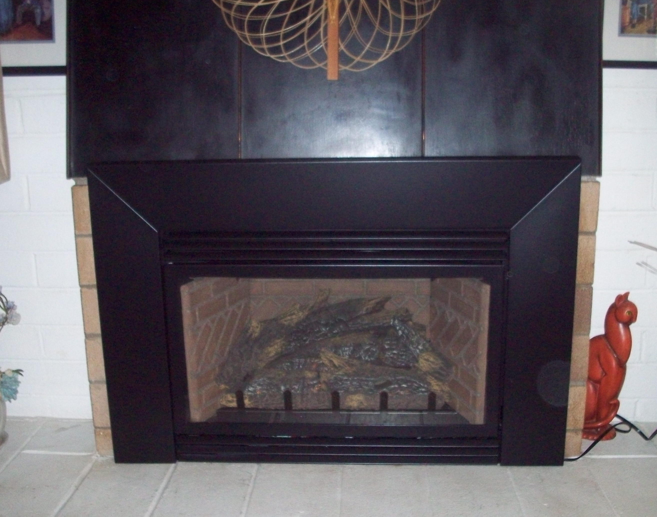 American Hearth Gas Insert