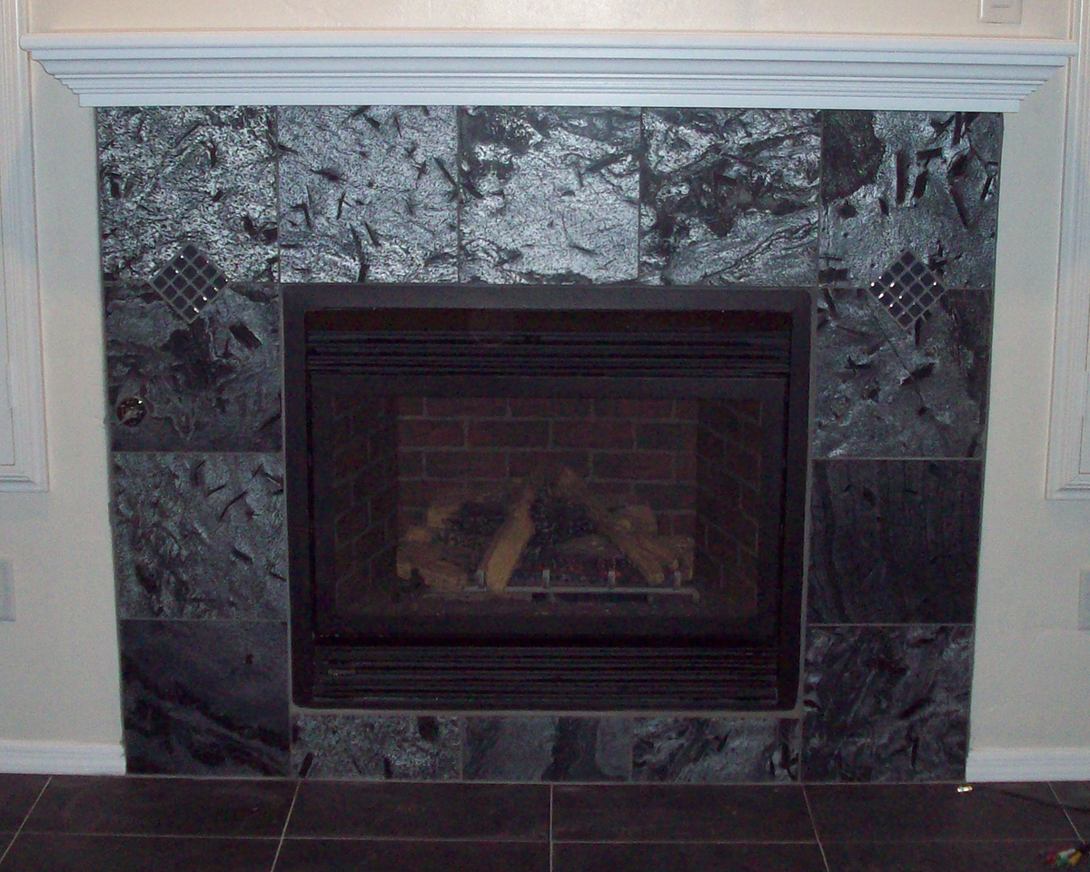Gas Fireplace Remodel