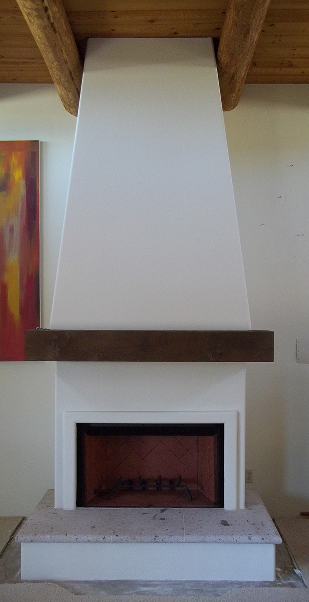 FMI Craftsman Wood-Burning Fireplace