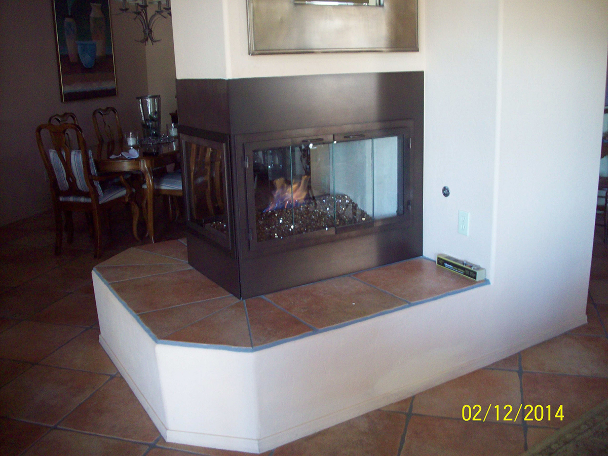 Design Specialties Custom Fireplace Reface